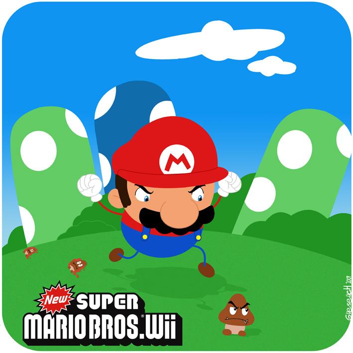 Les meilleurs fanarts New-Super-Mario-Bros-Wii