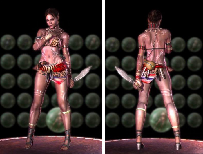 Sheva sexy Resident Evil 5