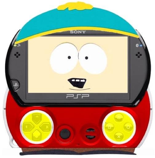 PSP Go Cartman