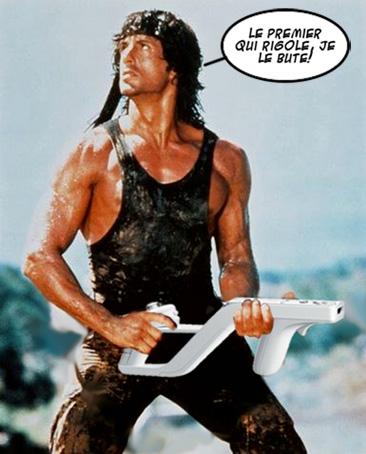 Rambo wii zapper